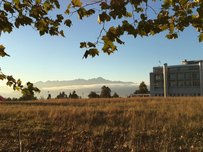 EPFL, Lausanne, Switzerland, October 2016 (courtesy of Chengxi Zhao)